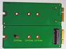 M.2 SSD젠더 mSATA SSD TO 7+17 PIN adapter CARD FOR 2012 Apple MacBook Pro Ranti