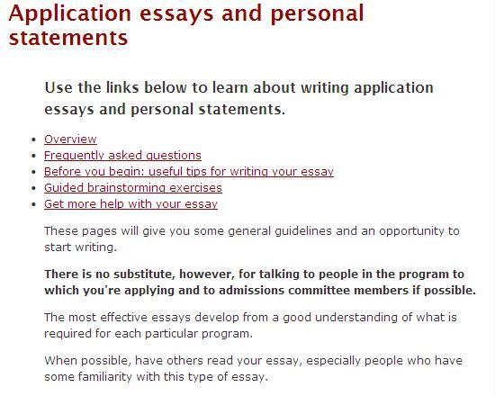 Writing a good college admissions essay uf