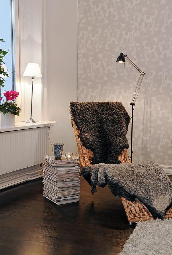 [거실인테리어] 안락의자가 있는 아늑한 북유럽스타일의 거실