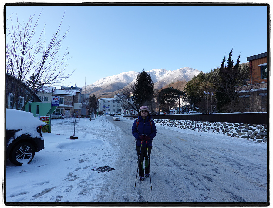 Muju Red Mountain to Snow Flower Mountain