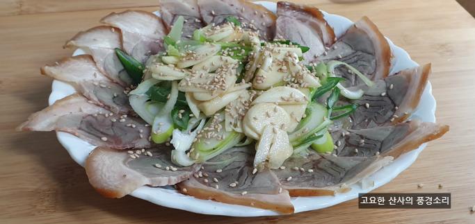 맛남의 광장, 막내 동준님과 함께 만드는 편육 냉채