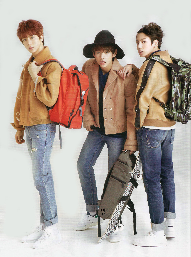 Picture Scan Bts At Ceci Magazine February Edition 150119