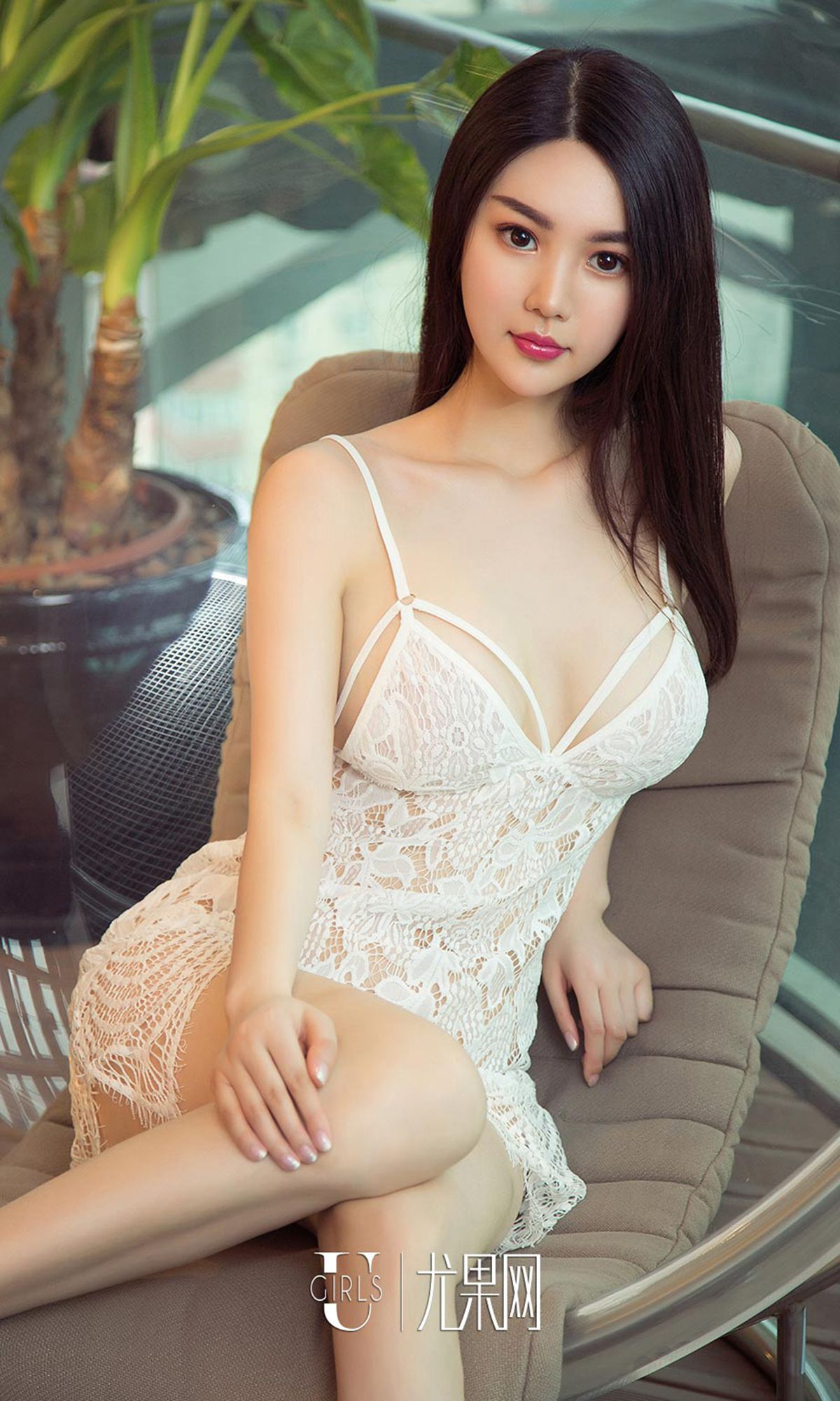 hot Chinese beautiful girl wearing lingerie