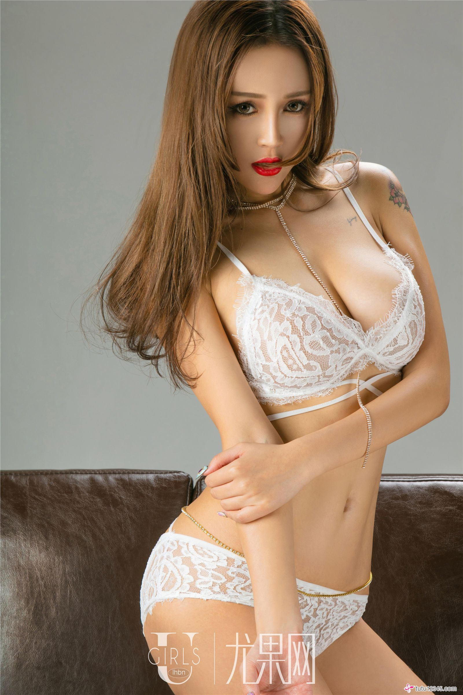 hot Chinese lingerie girl